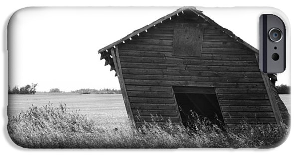 Old Barn iPhone Cases - Push iPhone Case by Jerry Cordeiro