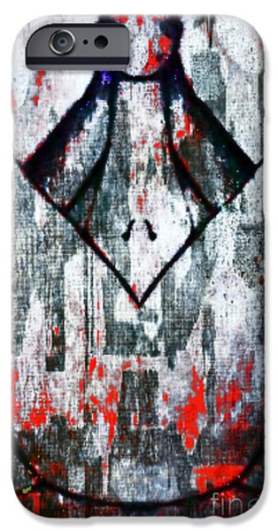 Michael Mixed Media iPhone Cases - Push iPhone Case by M and L Creations