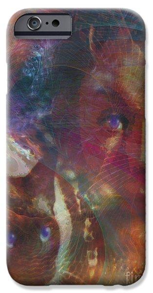 Pyewacket And Gillian iPhone Case by John Robert Beck