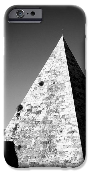 Pyramid of Cestius iPhone Case by Fabrizio Troiani