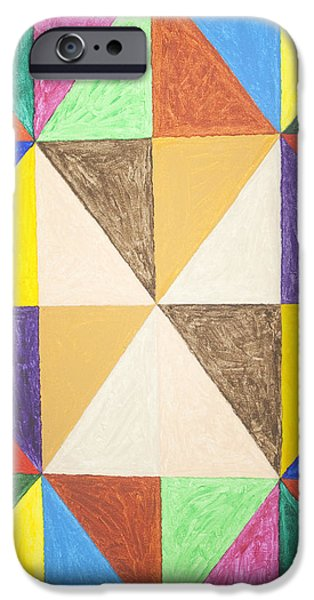 Recently Sold -  - Abstract Forms iPhone Cases - Pyramids #2 iPhone Case by Stormm Bradshaw