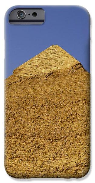 pyramids of giza 06 iPhone Case by Antony McAulay