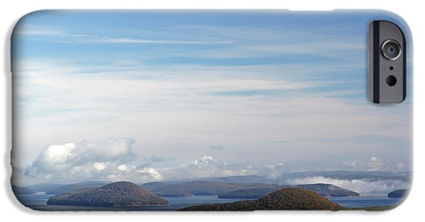 Seacoast iPhone Cases - Quabbin Reservoir iPhone Case by Juergen Roth