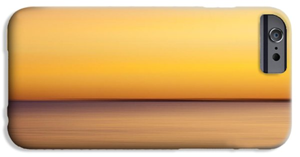 Ocean Sunset iPhone Cases - Quansoo Southwest iPhone Case by Carol Leigh