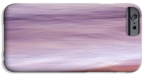 Ocean Sunset iPhone Cases - Quansoo West iPhone Case by Carol Leigh