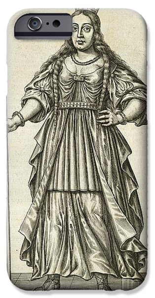 Briton iPhone Cases - Queen Boudicca, British Iceni Ruler iPhone Case by British Library