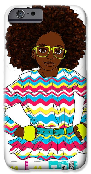 Empower iPhone Cases - Queen in Training iPhone Case by Respect the Queen