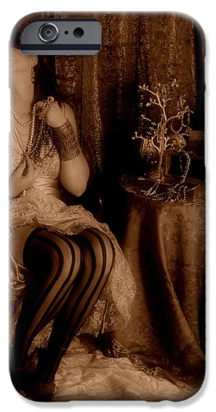 Queen Midas iPhone Case by Cindy Nunn