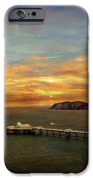 Queen of the Welsh Resorts iPhone Case by Adrian Evans