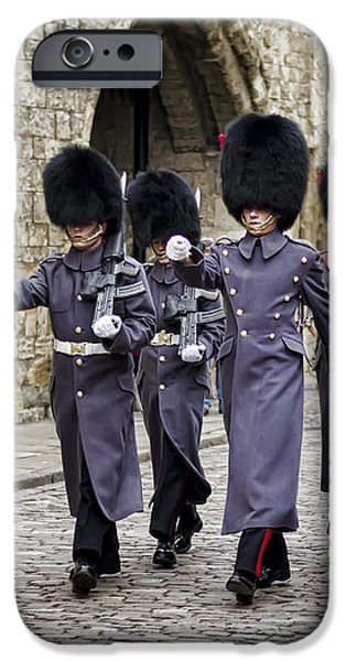 Queens Guard iPhone Case by Heather Applegate