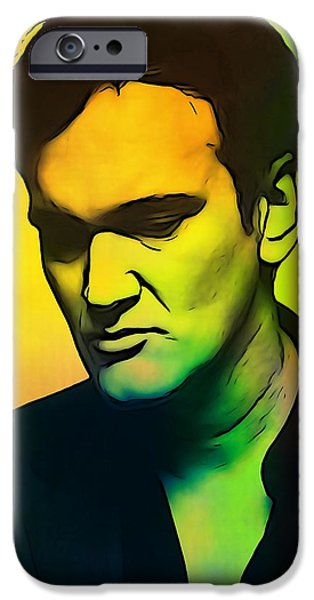 Reservoir Dogs iPhone Cases - Quentin Tarantino  iPhone Case by Dan Sproul