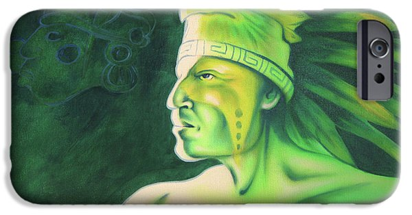 Airbrush iPhone Cases - Quetzal iPhone Case by Robert Martinez
