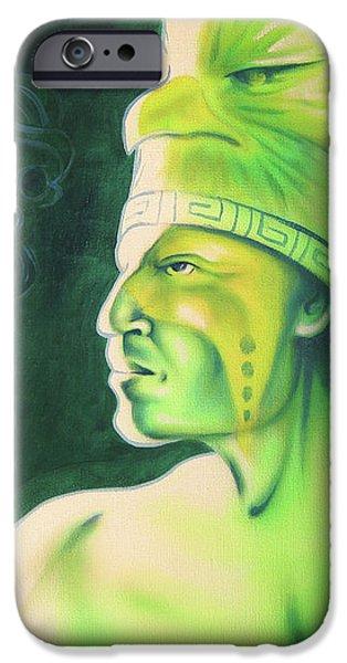 Quetzal iPhone Case by Robert Martinez