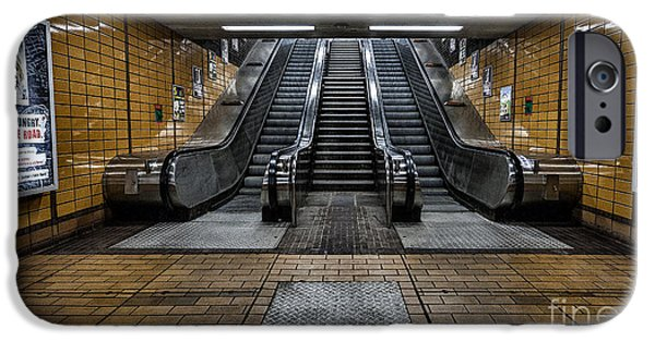 Subways iPhone Cases - Quiet day iPhone Case by John Farnan