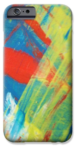 Abstract Forms iPhone Cases - Quiet Life iPhone Case by Artist Ai