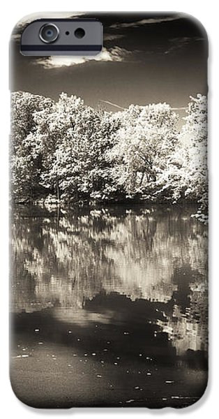 Quiet on the Pond iPhone Case by John Rizzuto