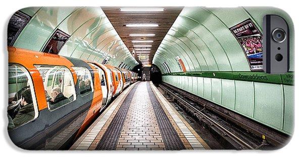 Subways iPhone Cases - Quiet still iPhone Case by John Farnan