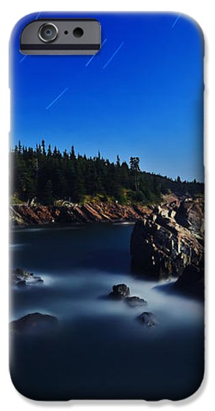 Quoddy Coast by Moonlight iPhone Case by Bill Caldwell -        ABeautifulSky Photography