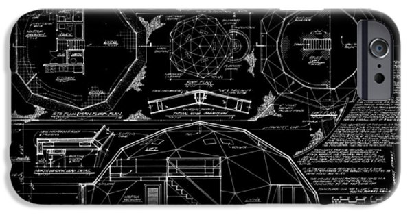Recently Sold -  - Buildings iPhone Cases - R. Buckminster Fuller Geodesic Dome Home iPhone Case by Daniel Hagerman