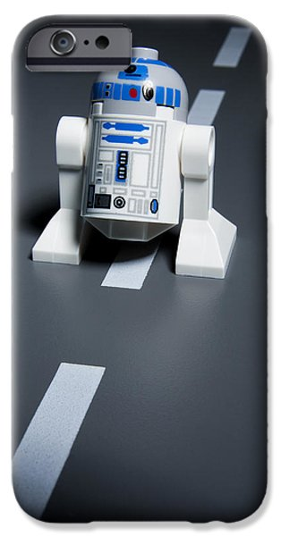 Lego iPhone Cases - R2-d2 iPhone Case by Samuel Whitton