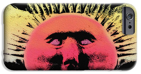 The Sun God iPhone Cases - Ra - The Sun God iPhone Case by Bill Cannon