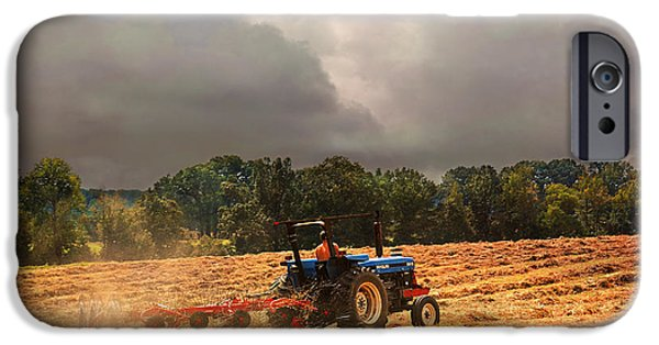 Tennessee Farm iPhone Cases - Race Against the Storm iPhone Case by Jai Johnson