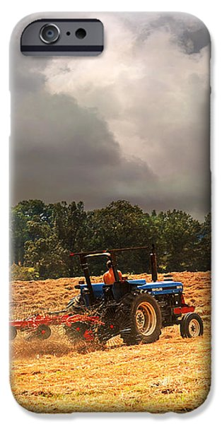 Race Against the Storm iPhone Case by Jai Johnson