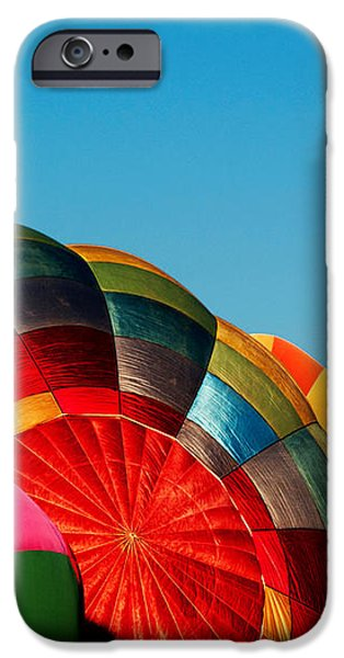 Racing Balloons iPhone Case by Bill Gallagher