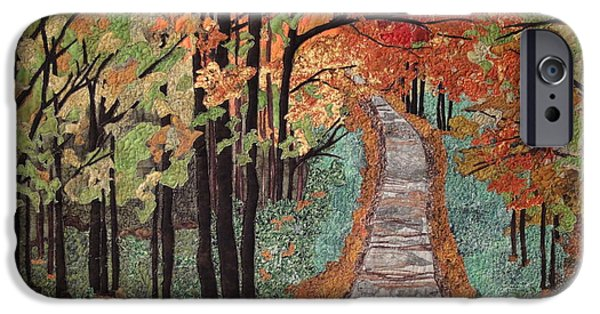 Fall Tapestries - Textiles iPhone Cases - Radiant Beauty iPhone Case by Anita Jacques