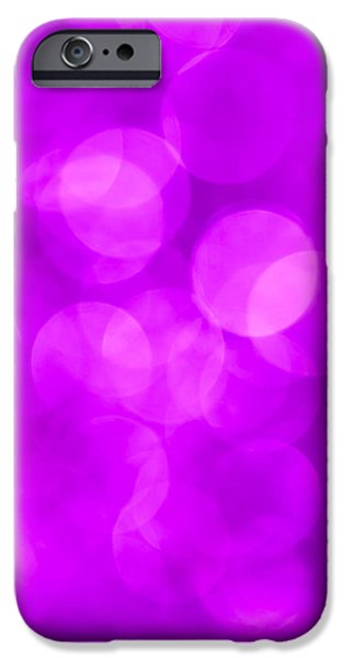 Pantone iPhone Cases - Radiant Orchid Abstract iPhone Case by Jan Bickerton