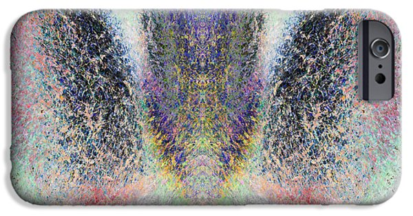 Seraphim Angel iPhone Cases - Radiant Seraphim iPhone Case by Christopher Gaston