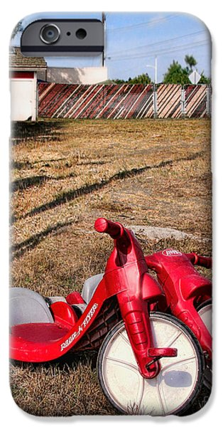 Toy Store iPhone Cases - Radio Flyer iPhone Case by Jennie Breeze