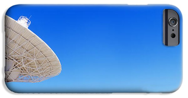 Technology iPhone Cases - Radio Telescope Satellite Dishes iPhone Case by Panoramic Images