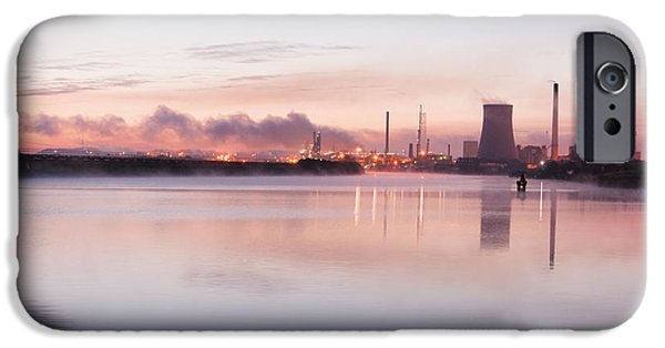 Morning iPhone Cases - Wondering lonely iPhone Case by Steve Bridge