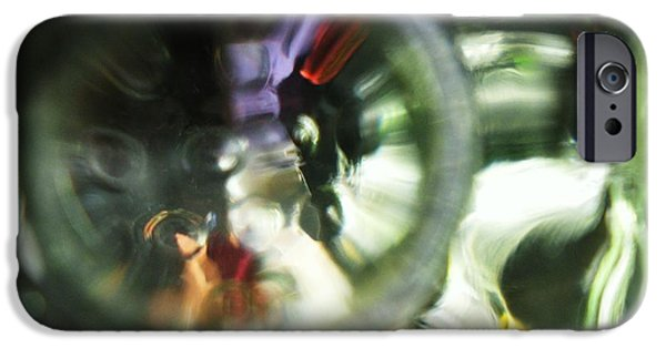 Design Glass Art iPhone Cases - Ragely Rushed iPhone Case by S Patrick Hagen