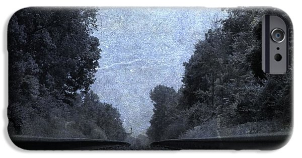 Great Mysteries iPhone Cases - Railroad Tracks iPhone Case by Dan Sproul