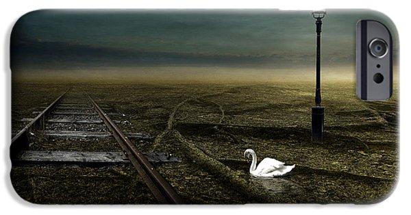 Strange iPhone Cases - Railway iPhone Case by Johan Lilja