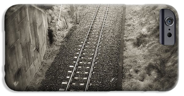 Railway iPhone Cases - Railway iPhone Case by Les Cunliffe