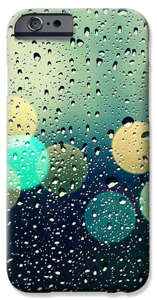 Rain and the city iPhone Case by Beata  Czyzowska Young
