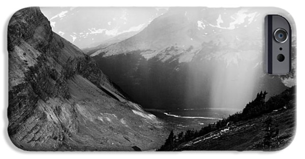 Hiking iPhone Cases - Rain at Rearguard iPhone Case by Ian Stotesbury