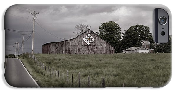 Tn Barn iPhone Cases - Rain Rolling In iPhone Case by Heather Applegate