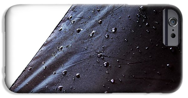 Drops iPhone Cases - Rain water drops iPhone Case by Gina Dsgn