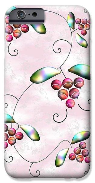 House iPhone Cases - Rainbow Berries iPhone Case by Anastasiya Malakhova