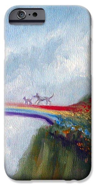 Rainbow Bridge iPhone Case by Stella Violano