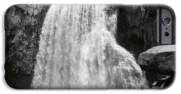 Bill Gallagher iPhone Cases - Rainbow Falls iPhone Case by Bill Gallagher
