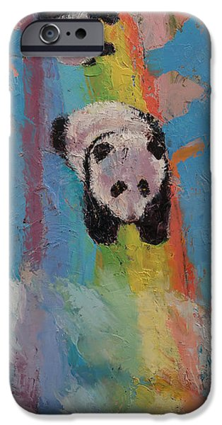 Michael iPhone Cases - Rainbow iPhone Case by Michael Creese