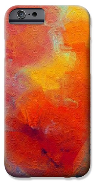 Rainbow Passion - Abstract - Digital Painting iPhone Case by Andee Design