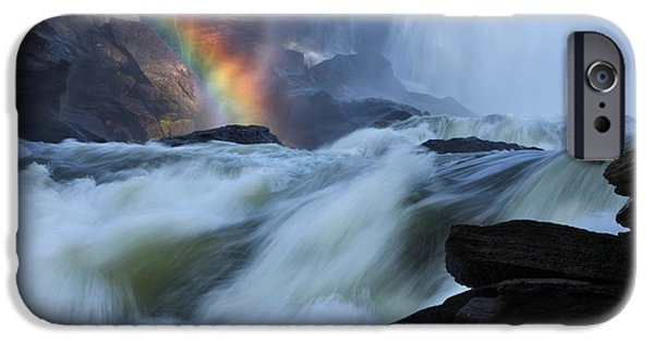 Miracle iPhone Cases - Rainbow River iPhone Case by Dreamland Media