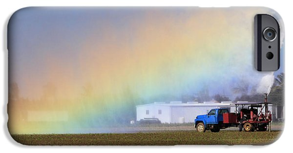 Industry iPhone Cases - Rainbow iPhone Case by Rudy Umans