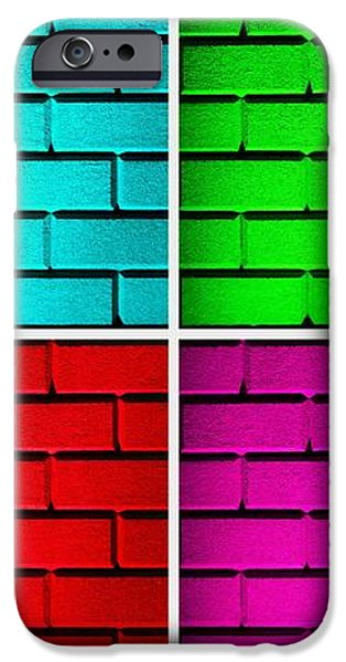 Rainbow Walls iPhone Case by Semmick Photo